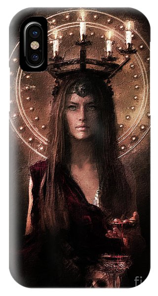 iPhone Case - Saint Lucy by Shanina Conway