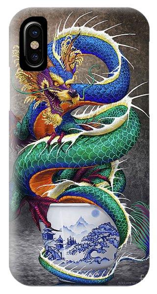 Sake Dragon IPhone Case