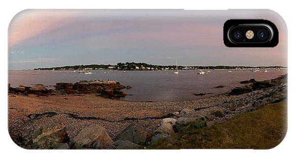 Salem Harbor From Winter Island IPhone Case