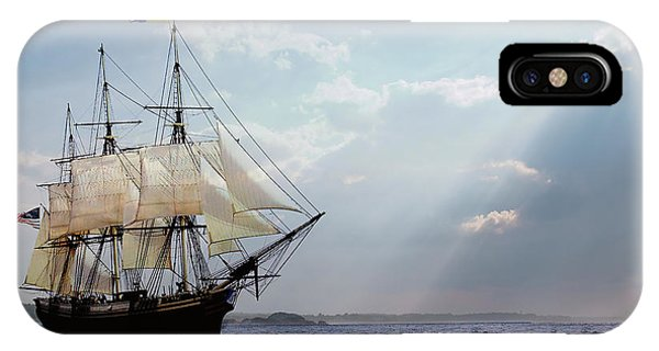 Salem's Friendship Sails Home IPhone Case