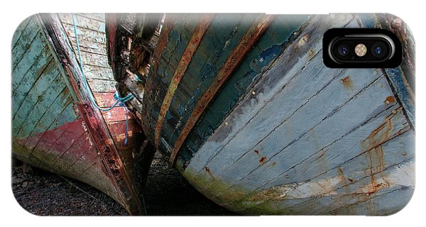 Fishing Boat iPhone Case - Salen Wrecks by Smart Aviation