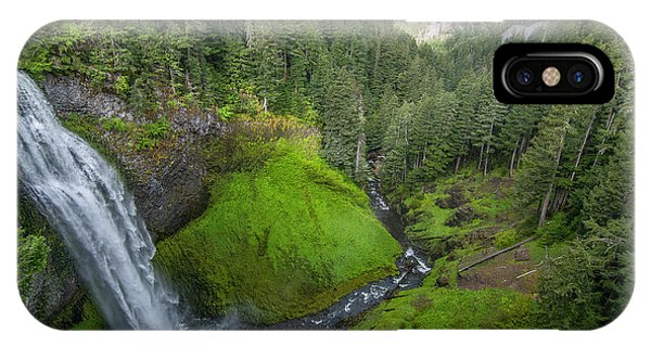 IPhone Case featuring the photograph Salt Creek Falls And Gorge by Matthew Irvin