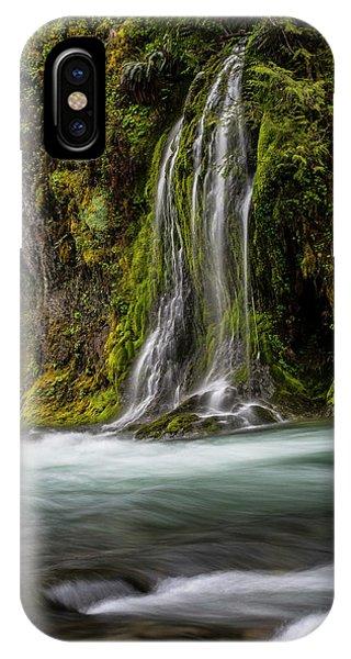 IPhone Case featuring the photograph Salt Creek Falls At Salmon Creek by Matthew Irvin