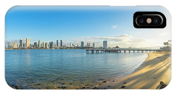 San Diego Bay - Panorama IPhone Case