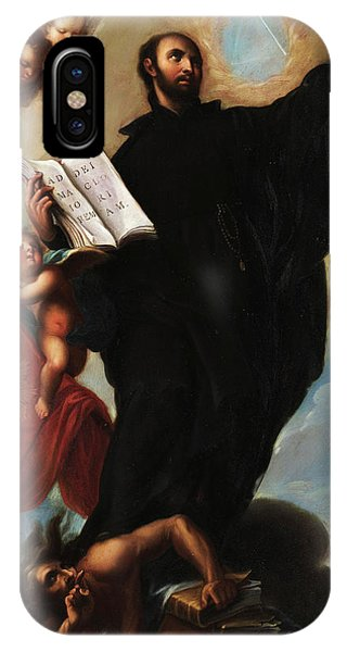 San Miguel iPhone Case - Saint Ignatius Loyola by Miguel Cabrera