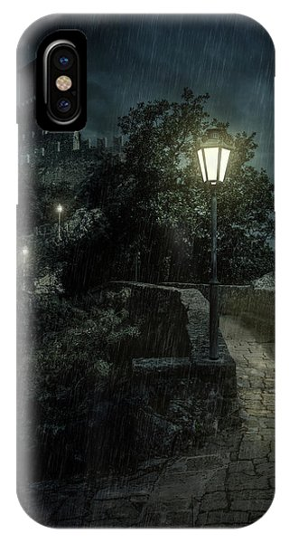 iPhone Case - San Marino At Night by Jaroslaw Blaminsky