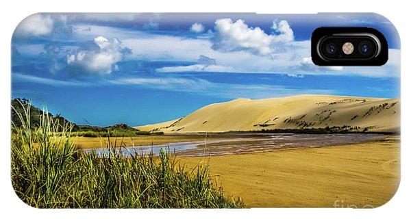 90 Miles Beach, New Zealand IPhone Case