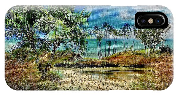 Sand To The Shore Montage IPhone Case