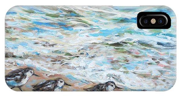Sanderlings Running IPhone Case