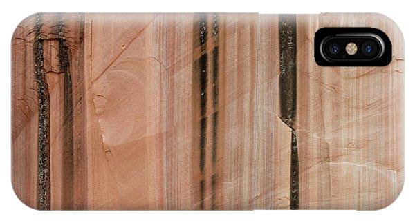 Sandstone Cliff Above Calf Creek Trail Phone Case by William Mullins