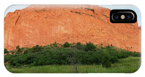 Sandstone Rock Formation Called The Kissing Camels In Colorado IPhone Case