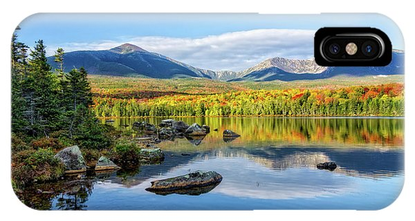 Sandy Stream Pond Baxter Sp Maine IPhone Case