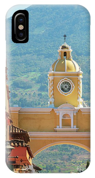 IPhone Case featuring the photograph Santa Catalina Arch Antigua Guatemala by Tim Hester