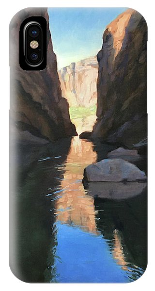 Santa Elena Canyon, Big Bend IPhone Case