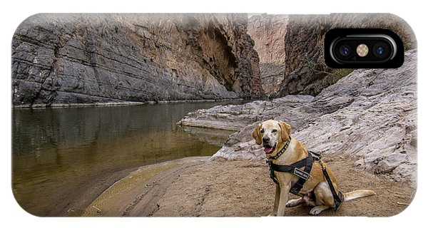IPhone Case featuring the photograph Santa Elena Canyon by Matthew Irvin