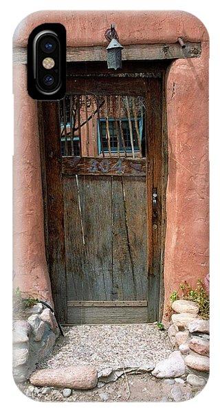 Santa Fe Door IPhone Case