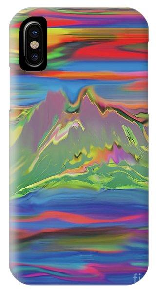 Santa Fe Sunset IPhone Case