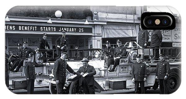 Santa Monica Firemen 1920 IPhone Case