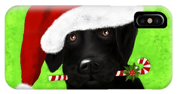 Santa's Little Helper IPhone Case