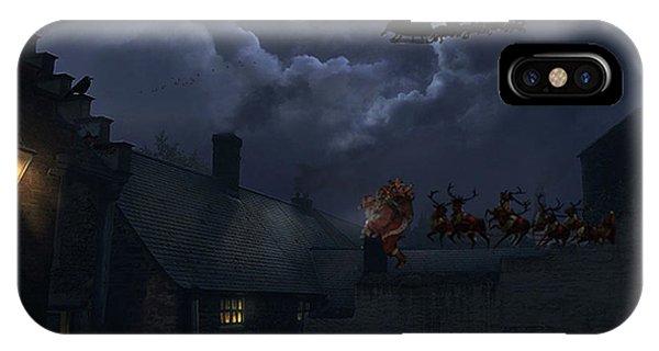 Santas IPhone Case