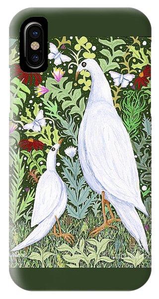 Sapientes Pacis Birds IPhone Case
