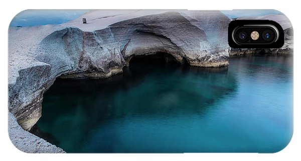 Greece iPhone Case - Sarakiniko by Evgeni Dinev
