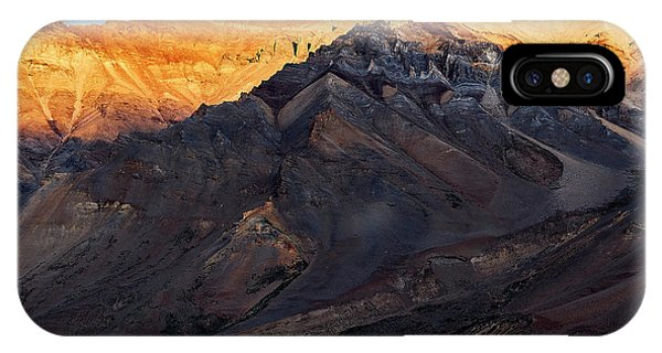 IPhone Case featuring the photograph Sarchu Sunrise by Whitney Goodey