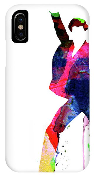 Film iPhone Case - Saturday Night Fever Watercolor by Naxart Studio