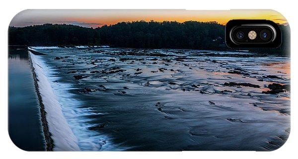 Savannah Rapids Sunrise - Augusta Ga IPhone Case