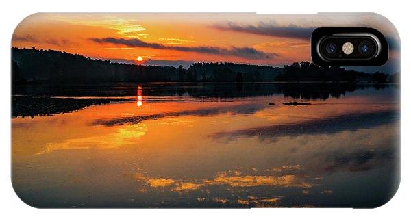 Savannah River Sunrise - Augusta Ga 2 IPhone Case