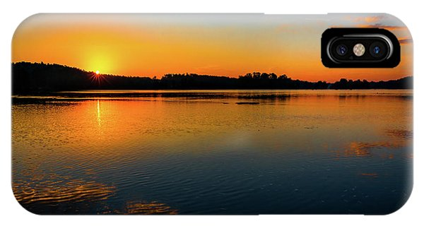 Savannah River Sunrise - Augusta Ga IPhone Case