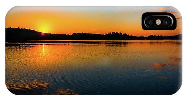 Savannah River Sunrise - Augusta Ga IPhone Case