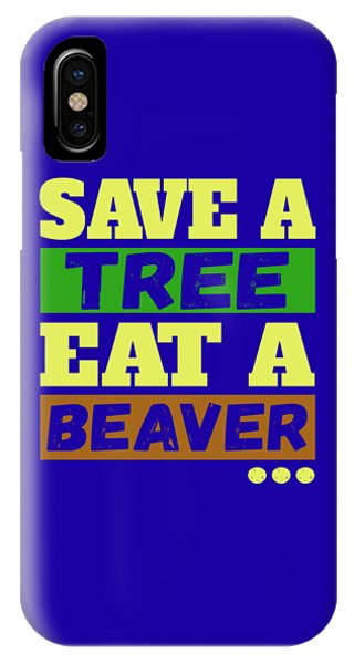 Save A Tree IPhone Case