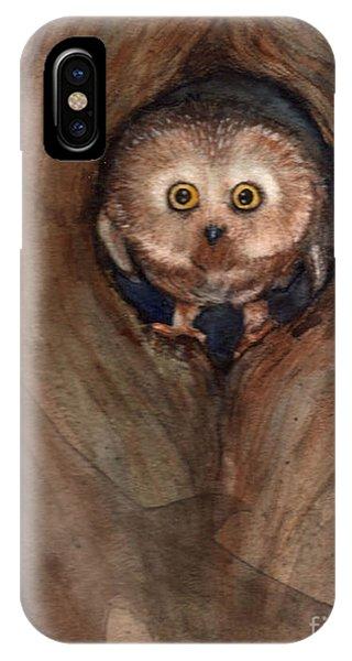 Scardy Owl IPhone Case