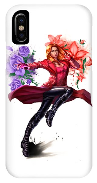 quality design 40d72 a0be1 Scarlet Witch iPhone Cases | Fine Art America