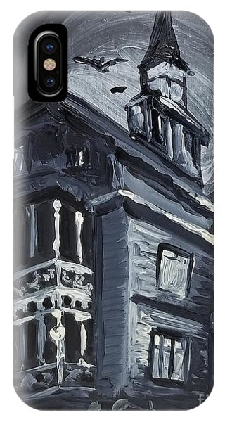 Scary Old House IPhone Case