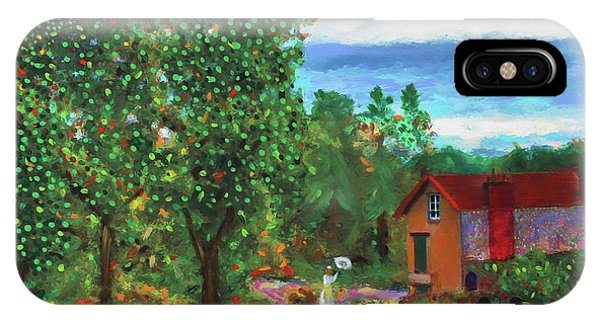 Scene From Giverny IPhone Case