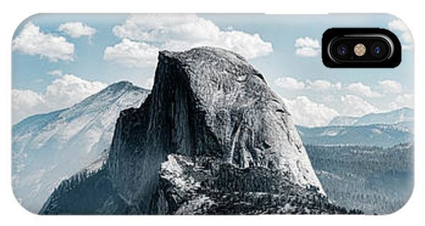 iPhone Case - Scenic View Of Rock Formations, Half by Panoramic Images