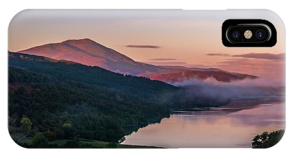 Schiehallion  From Queen's View Phone Case by David Ross
