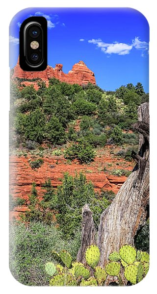 Schnebly Hill View, Sedona IPhone Case