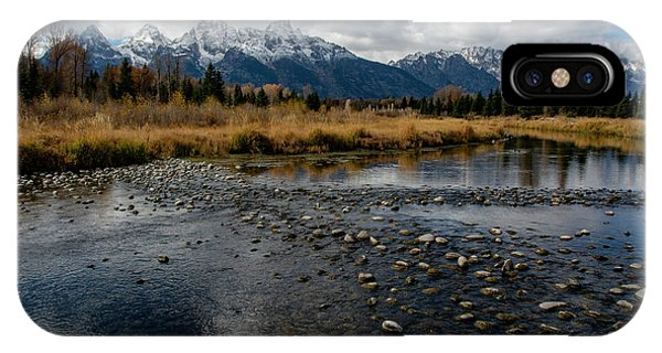 IPhone Case featuring the photograph Schwabacher Landing by Scott Read