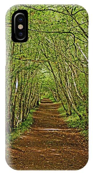 Scotland. Killiecrankie. Path Through The Trees. IPhone Case
