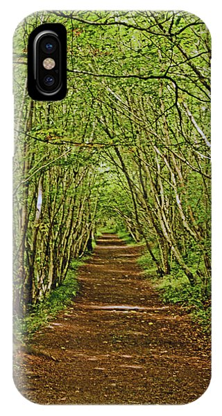 Scotland. Killiecrankie. Path Through The Trees. IPhone Case