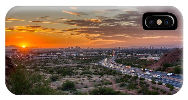 Scottsdale Sunset IPhone Case