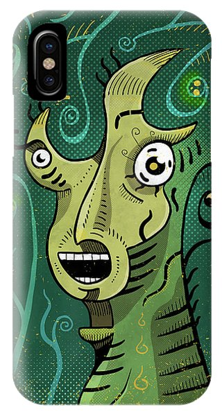 IPhone Case featuring the digital art Scream by Sotuland Art