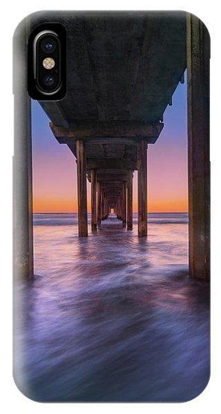 Scripps Pier - 2 IPhone Case