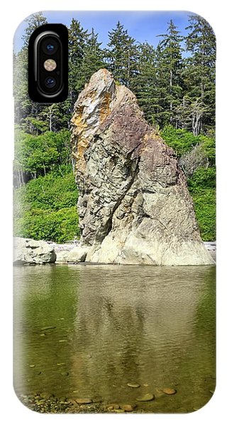Sea Stack At Ruby Beach  IPhone Case