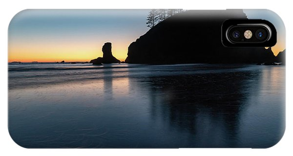 Sea Stack Silhouette IPhone Case