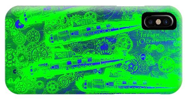 Navigation iPhone Case - Sea Sub Sonar by Jorgo Photography - Wall Art Gallery
