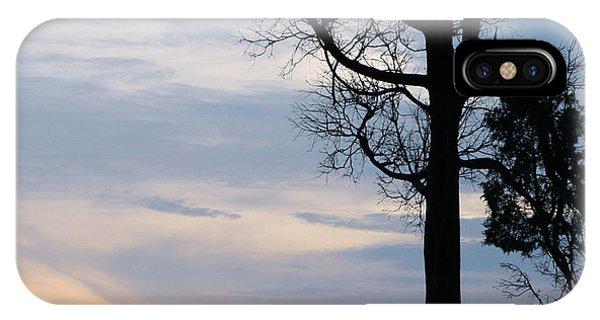 Seagull Sunset At Catawba IPhone Case